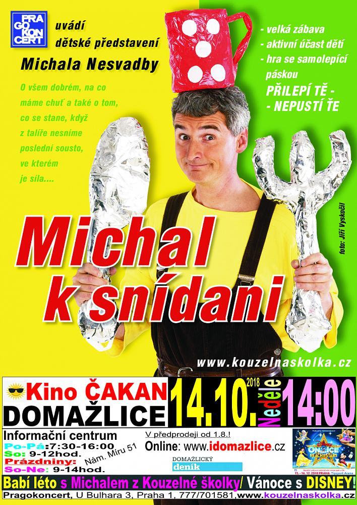 12118_detail Kouzelná školka - Michal k snídani